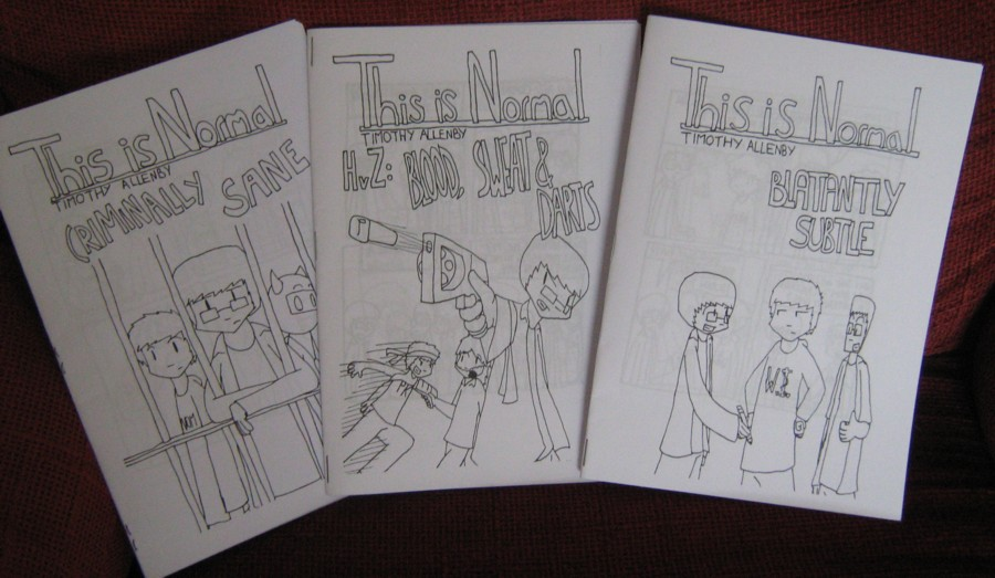 Filler Week - Zines 1-3