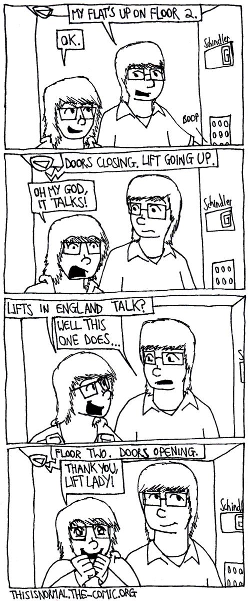 Lift Lady