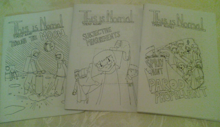 Filler Week: Zines 4-6