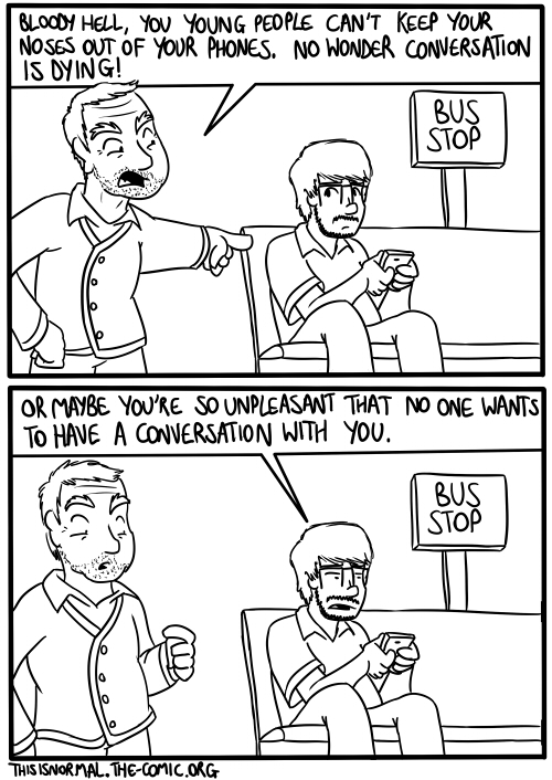 Dying Conversation