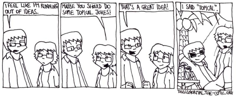 Topical Jokes