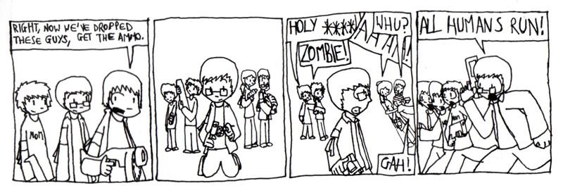 Humans vs Zombies Part 14